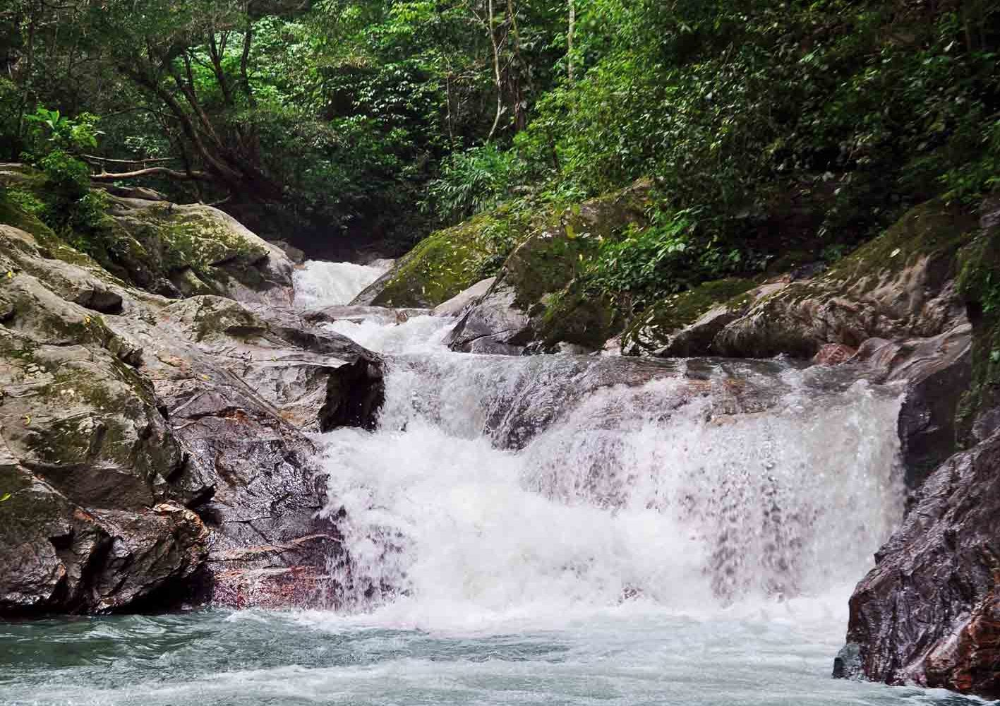 Wasserfall Pozo Azul bei Minca