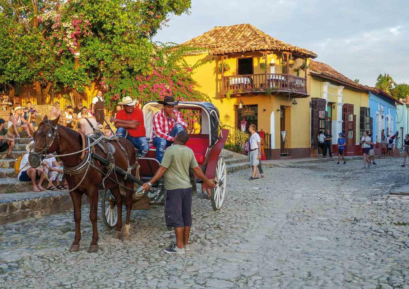 Die Kutsche - ein allgegenwärtiges Transportmittel auf Kuba