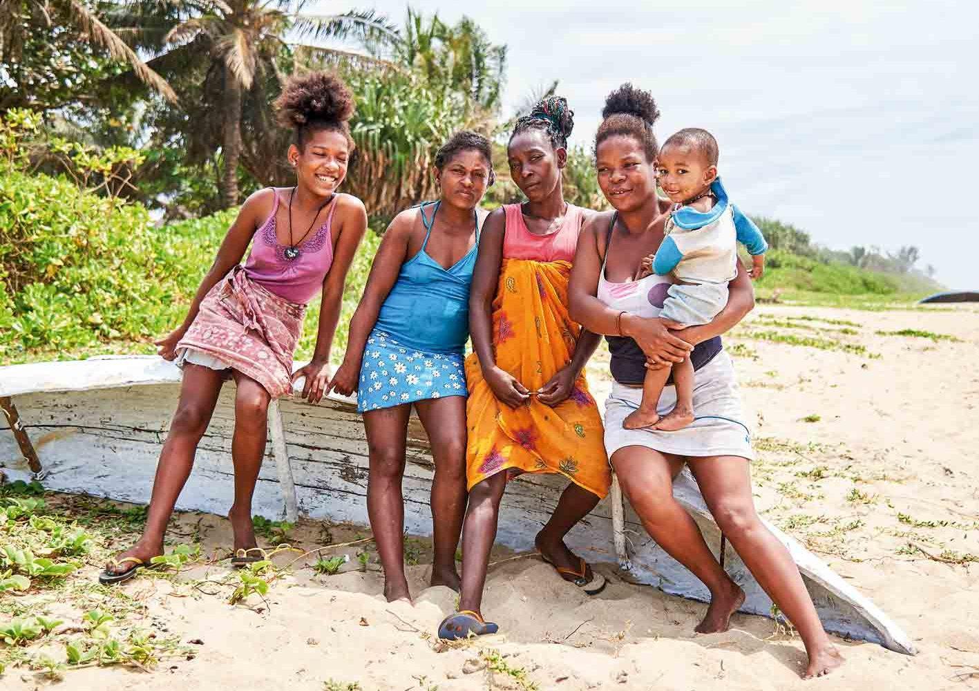 Begegnung auf Madagaskar