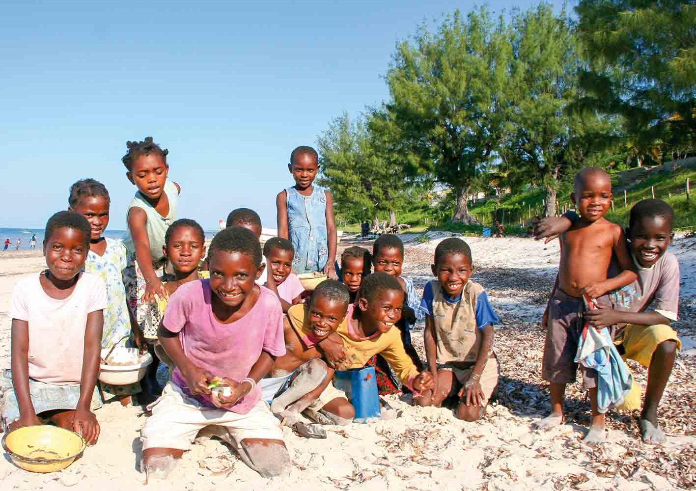 Begegnungen unterwegs in Mozambique