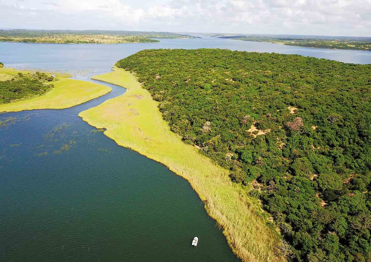 Nhambavale-See, Mozambique
