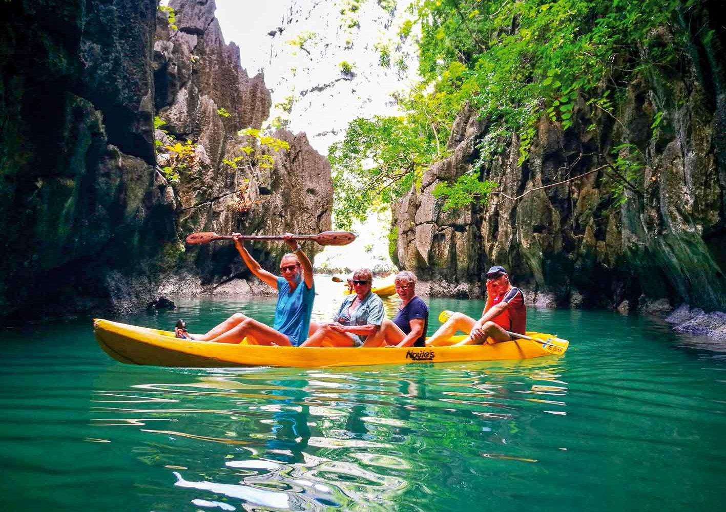 Südsee-Stimmung und Island Hopping auf Palawan, Philippinen