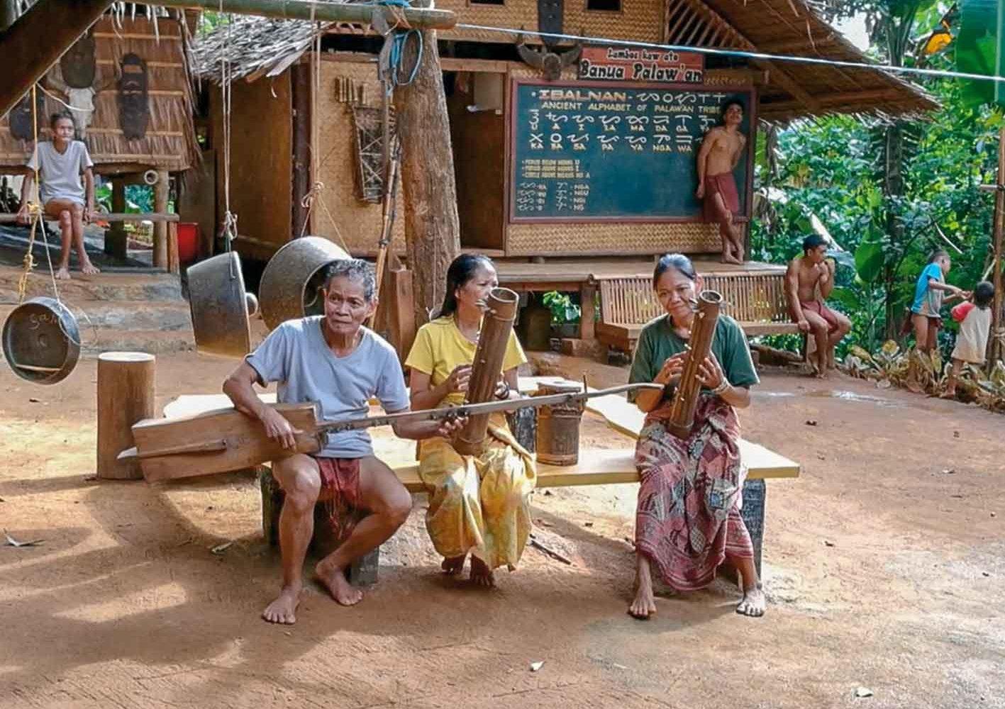 Musikgruppe auf Palawan, Philippinen