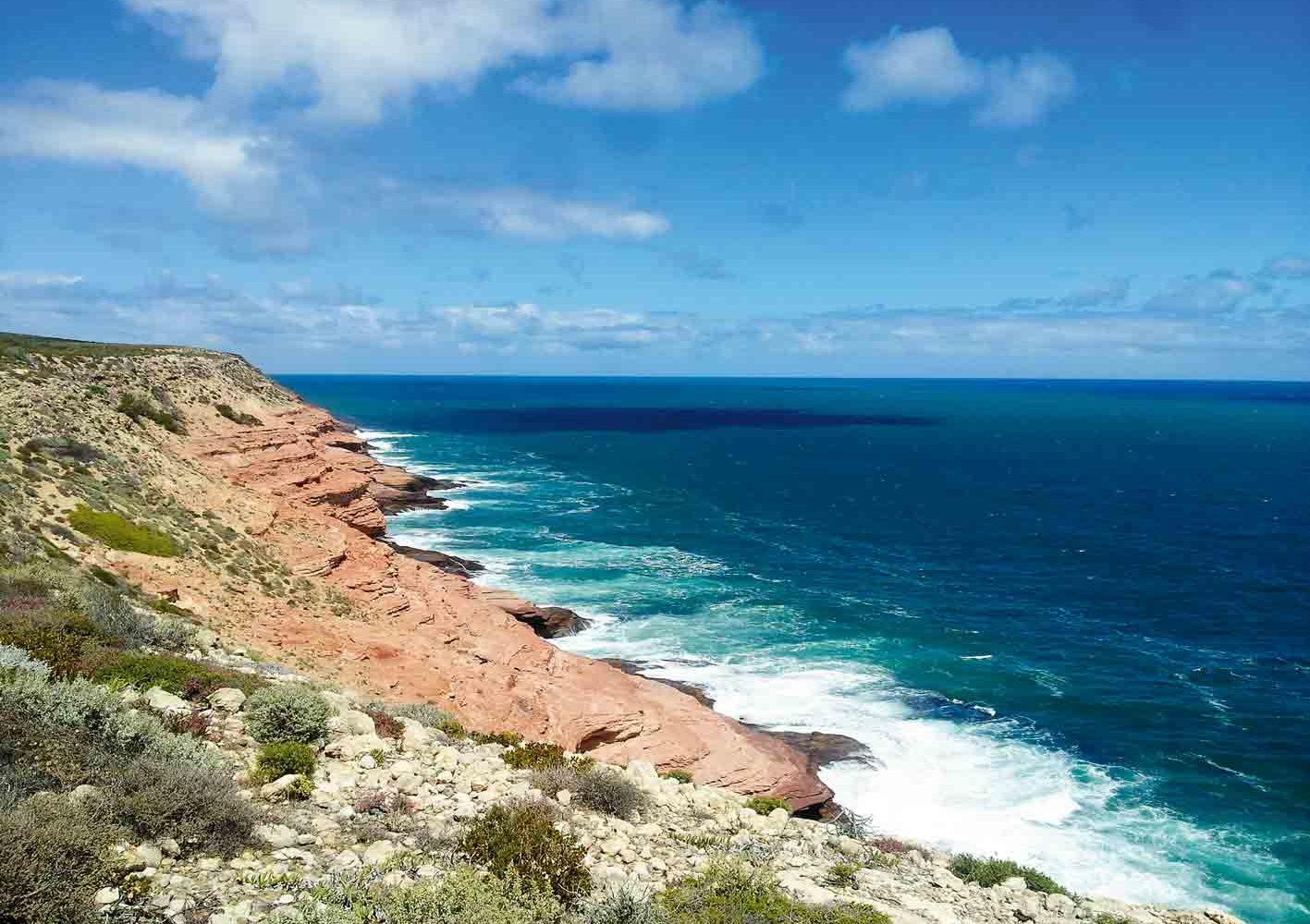 Wanderung entlang der spektakulären Küste, West-Australien