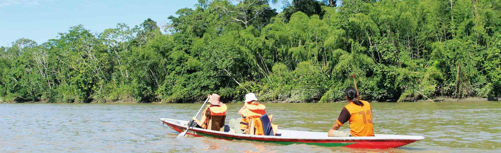 Mit dem Kanu auf Entdeckungstour