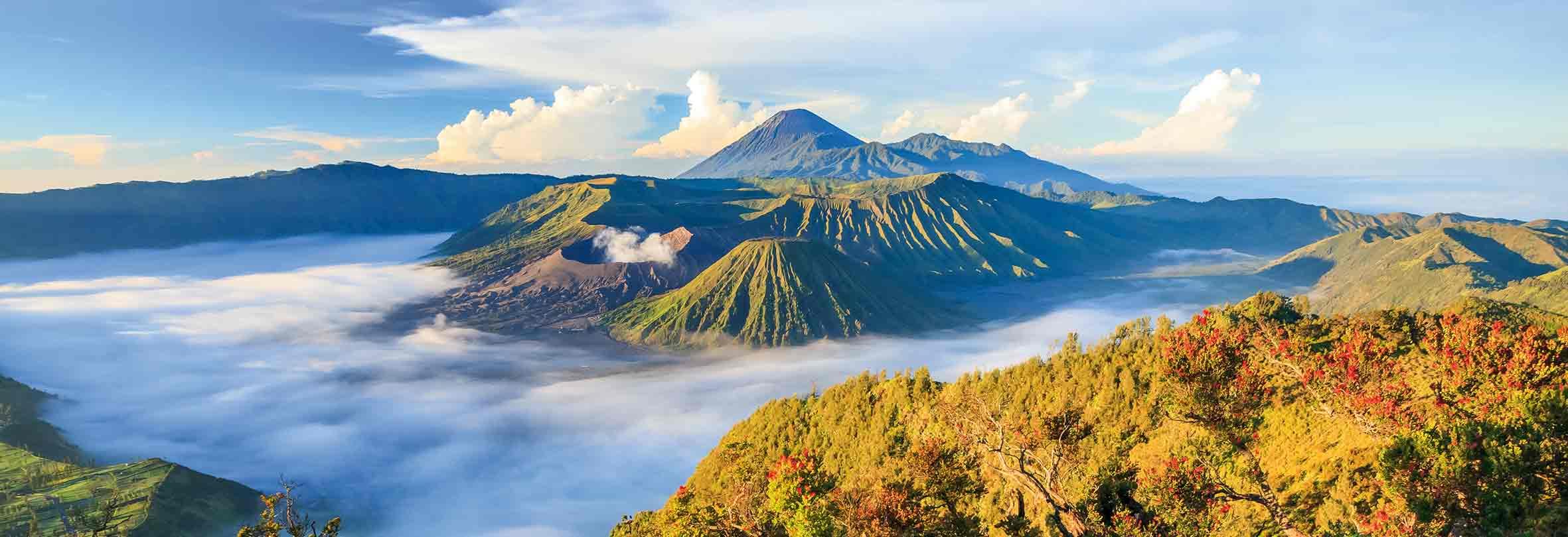 Bromo-Vulkan auf Java