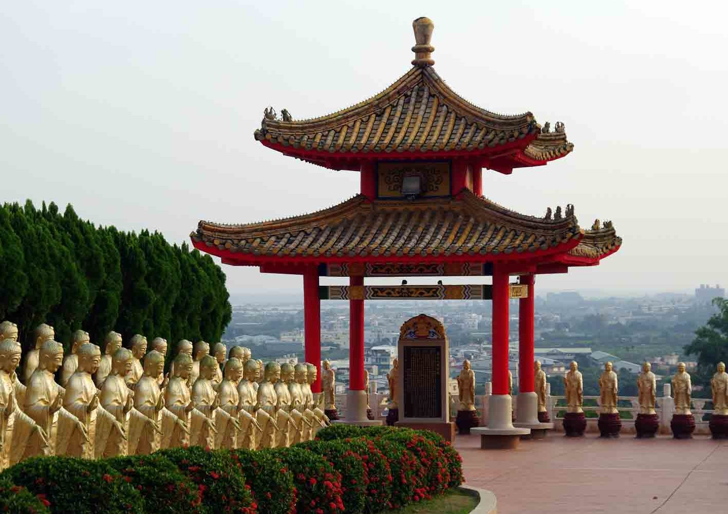Fo Guang Shan-Kloster in Taiwan