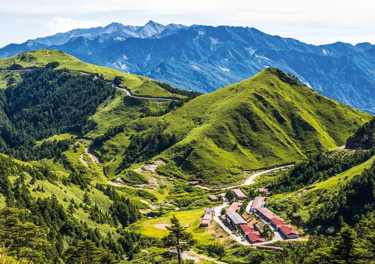 Taiwan: Mount Hehuan-Trekking am 12. Tag