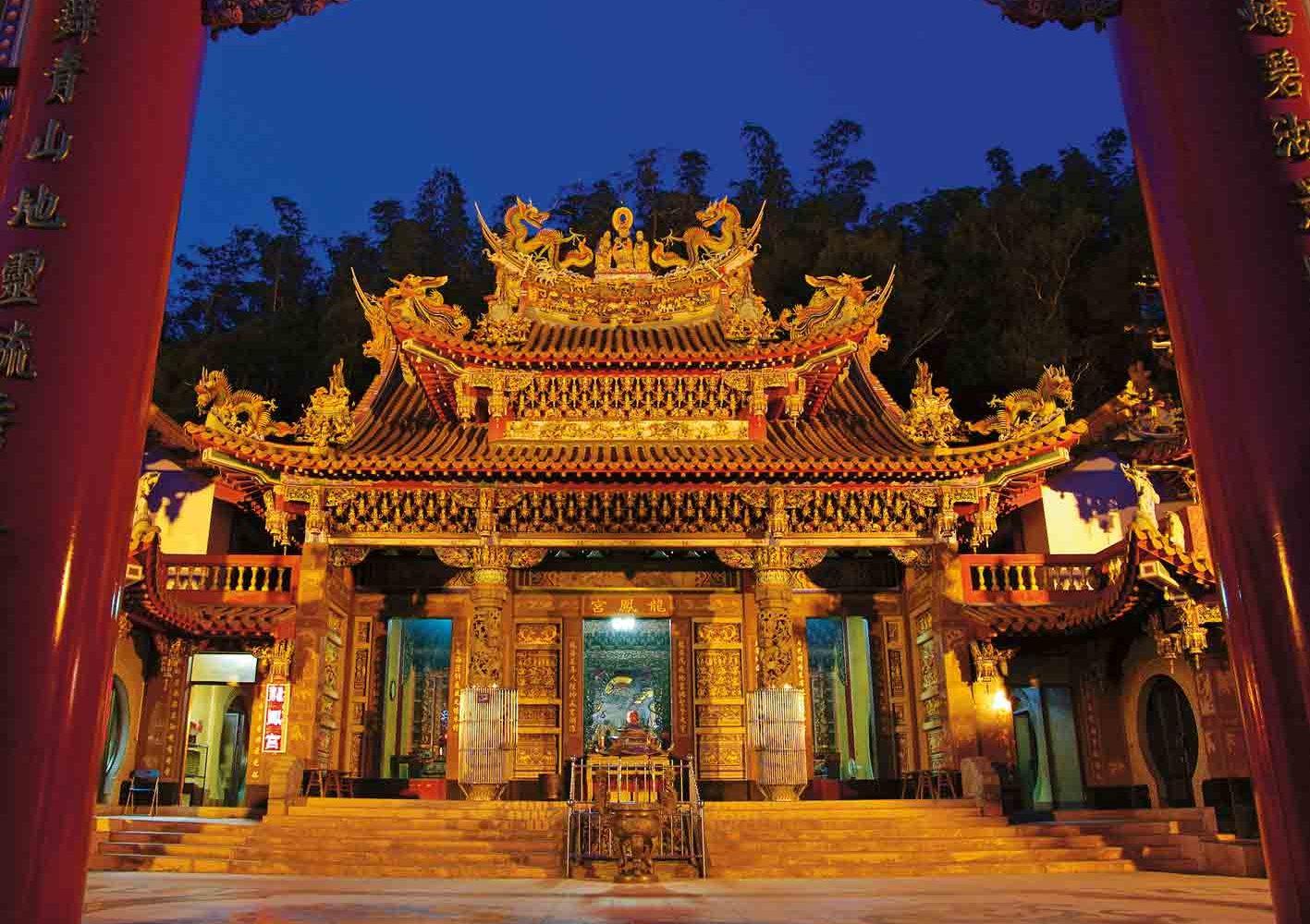 Tempel am Sonne-Mond-See, Taiwan