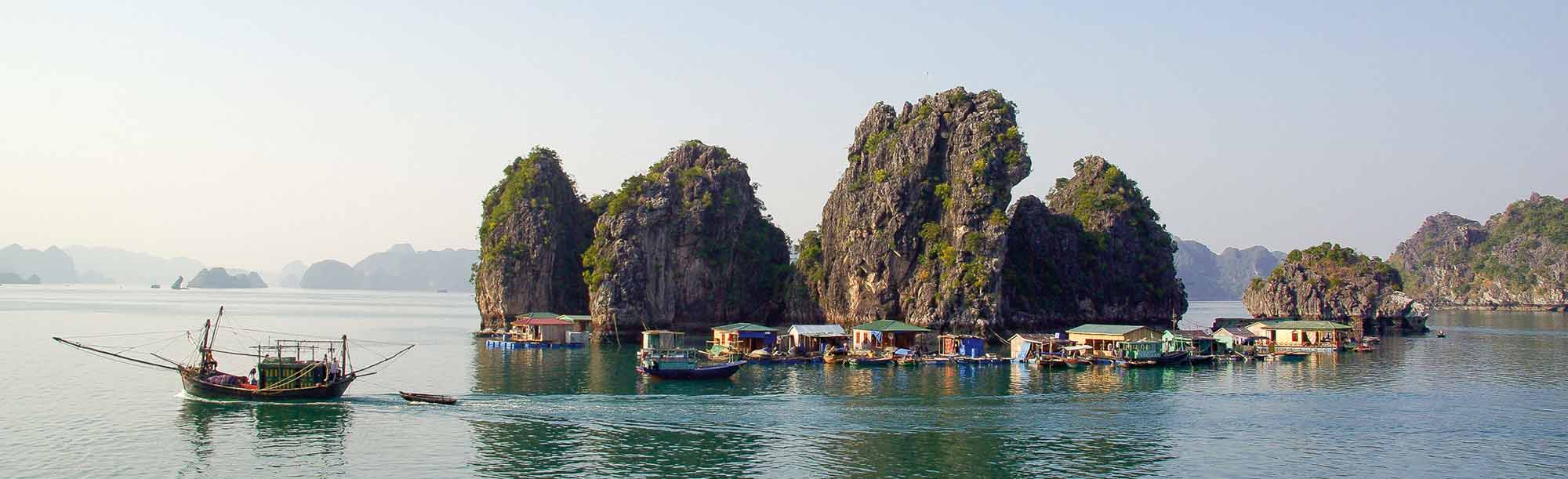 Ha-Long-Bucht in Vietnam