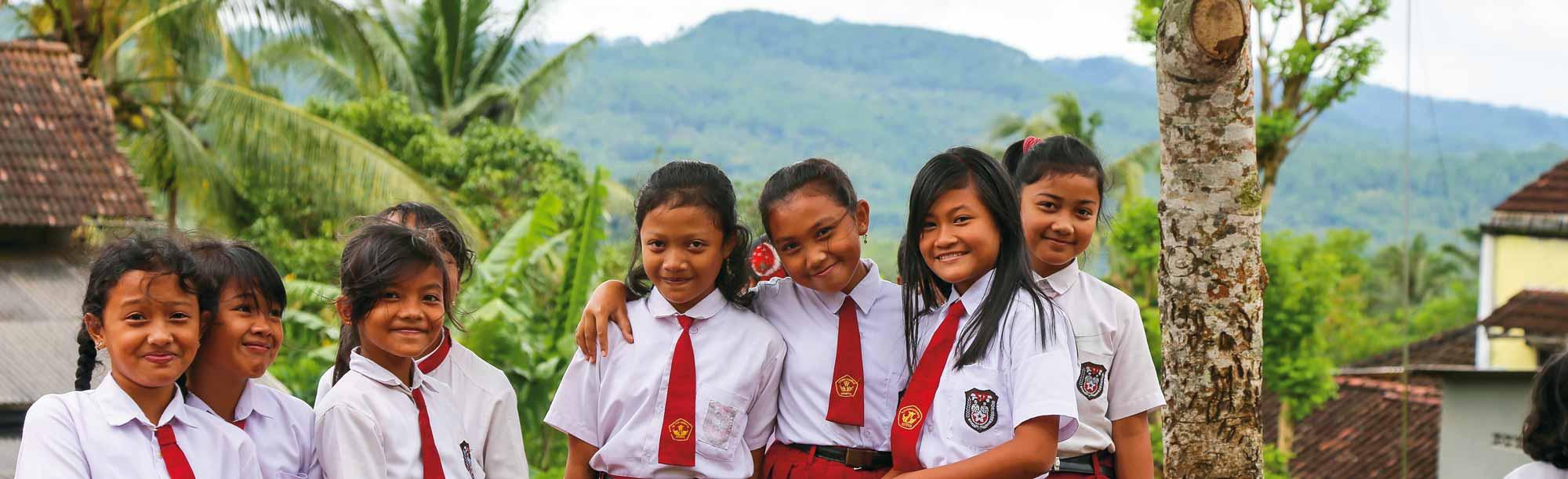 Schulklasse auf Java