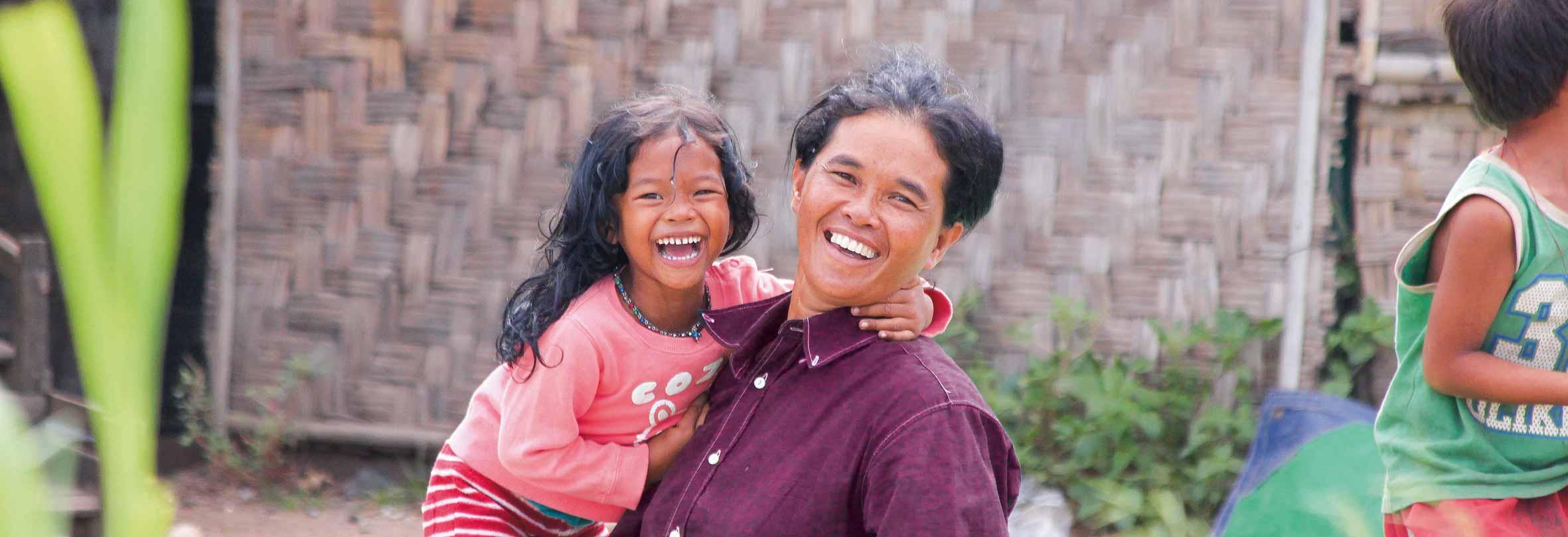 Einheimische am Tonle Sap-See, Kambodscha