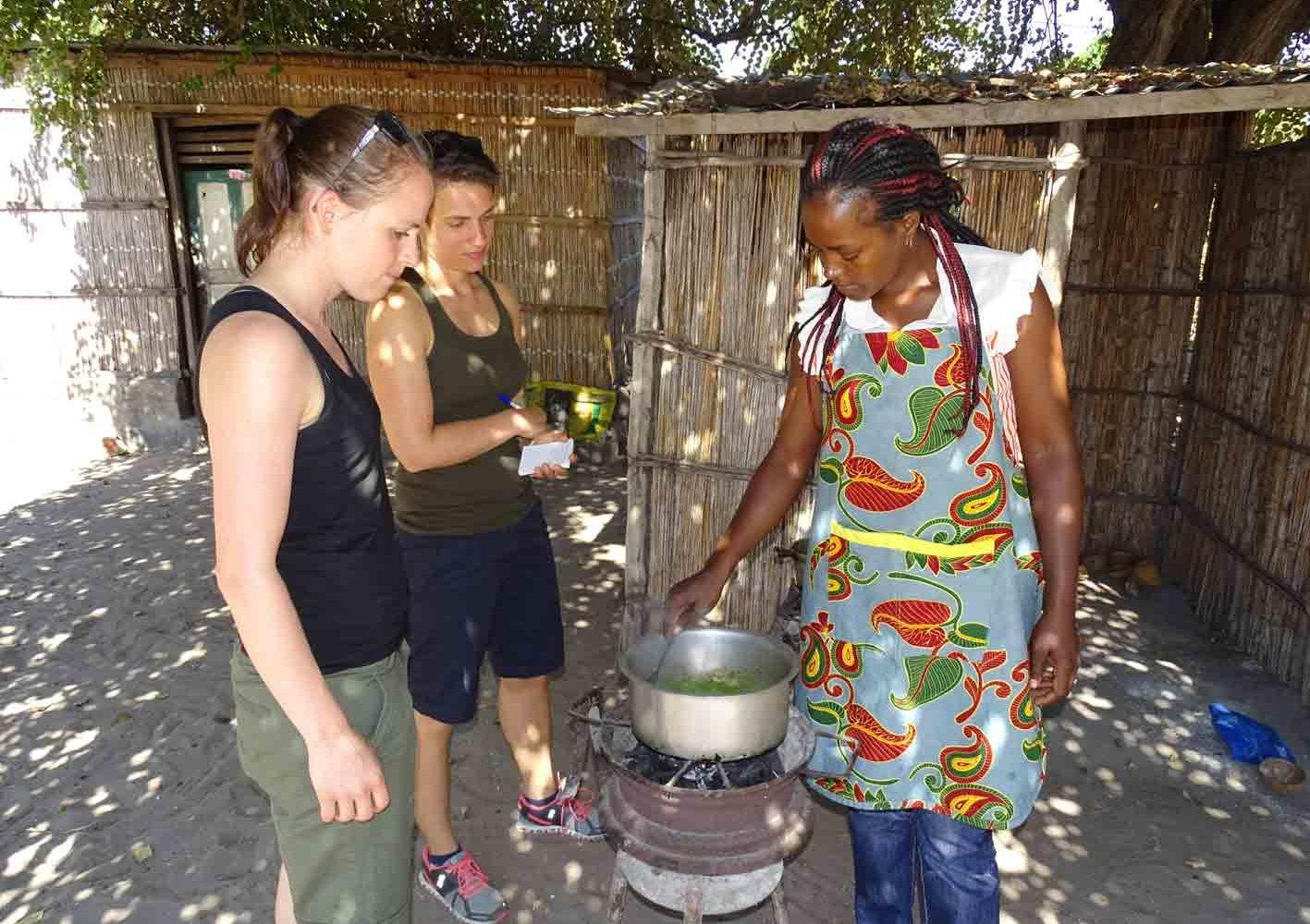 Kochkurs in Vilanculos, Mozambique