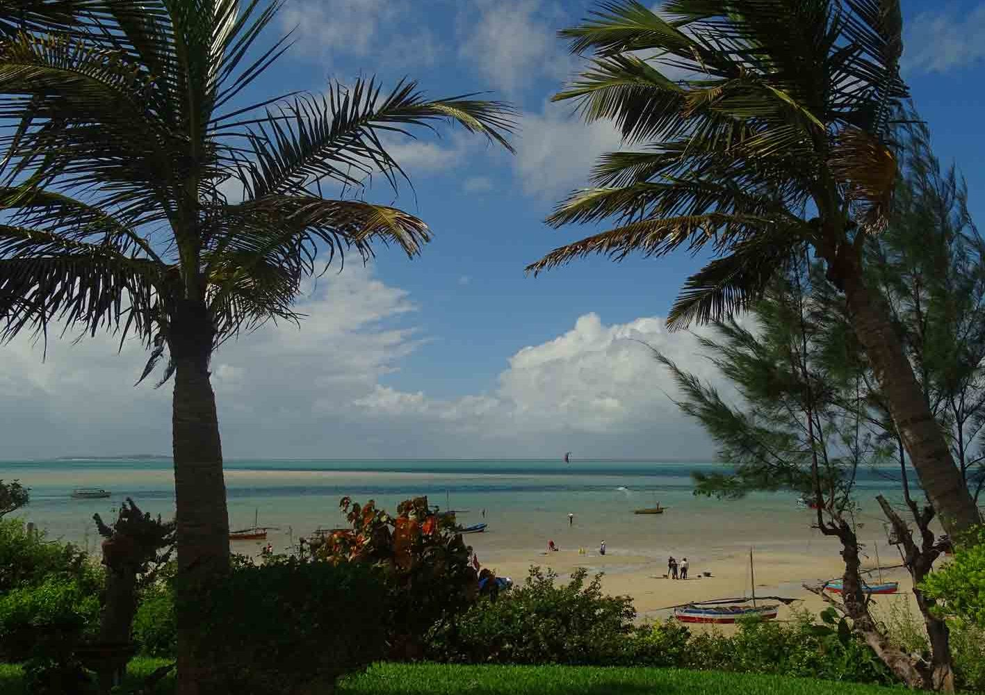 Strand von Vilanculos, Mozambique