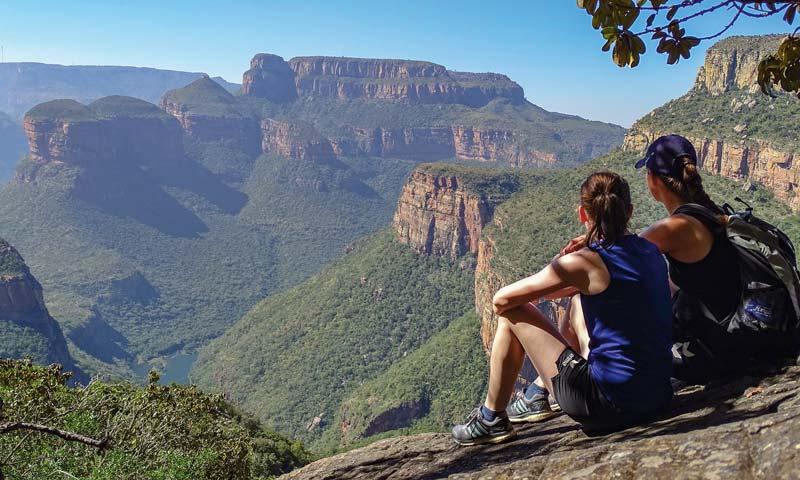Aussichtspunkt Blyde River Canyon, Südafrika