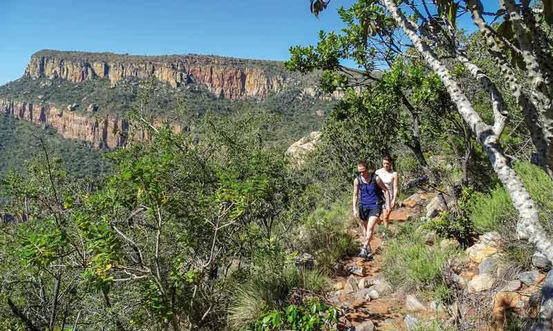 Wanderung im Blyde River Canyon, Südafrika