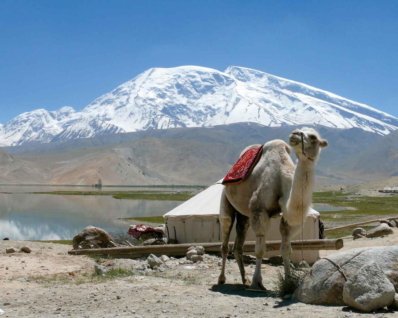 Seidenstrasse, Muztagata, Pamir, China, KirgisienSeidenstrasse, Muztagata, Pamir, China, Kirgisien