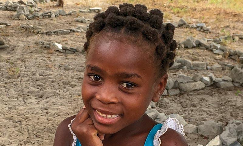 Herzliche Begegnung in Mozambique