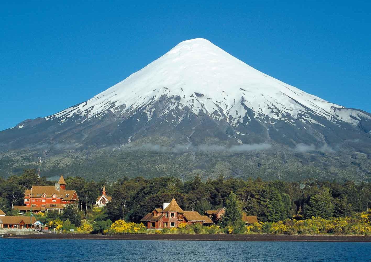 Unser Hotel am Lago Todos los Santos beim Vulkan Osorno