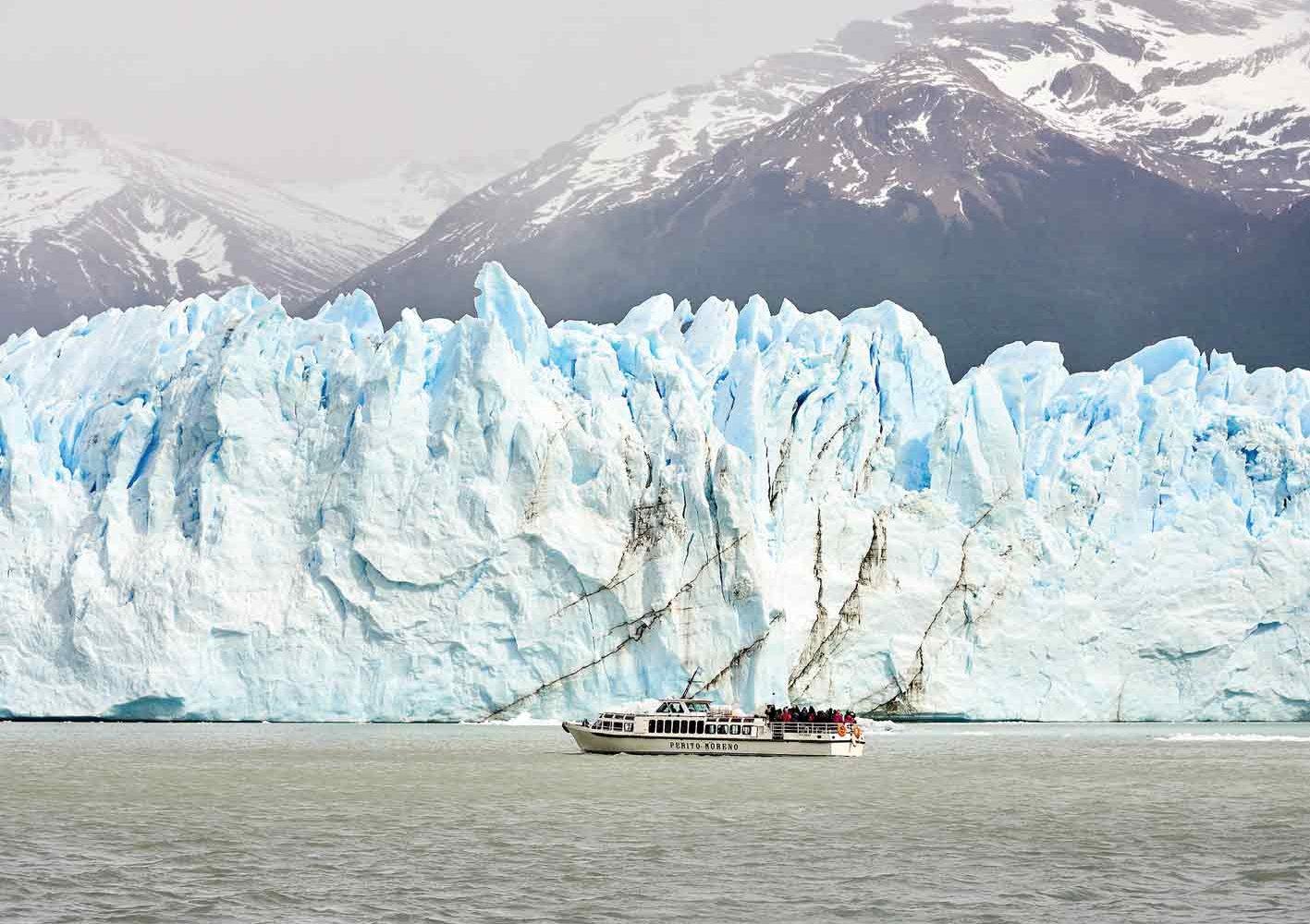 Schifffahrt zum Perito Moreno-Gletscher, Argentinien