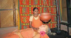 Massage und Behandlungen, Agastya Ayurveda Garden, Kerala, Südindien