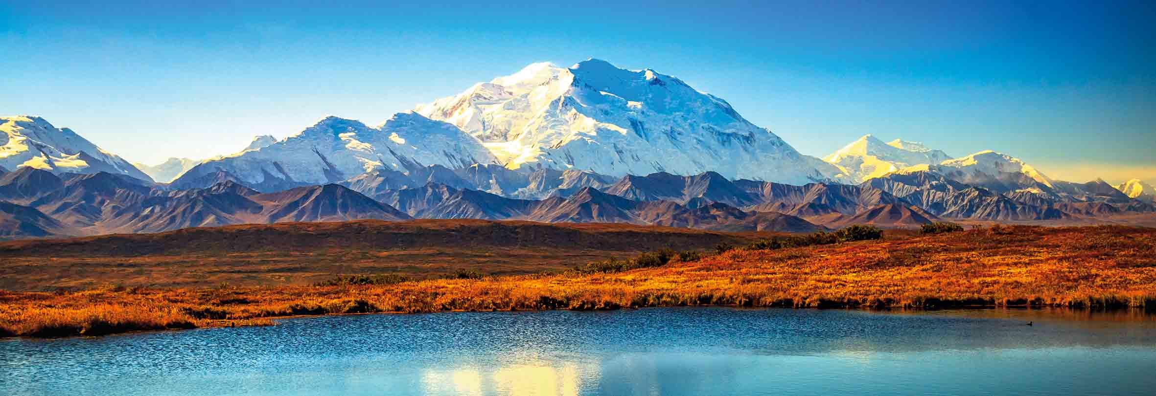 Denali, 6190 m, Alaska