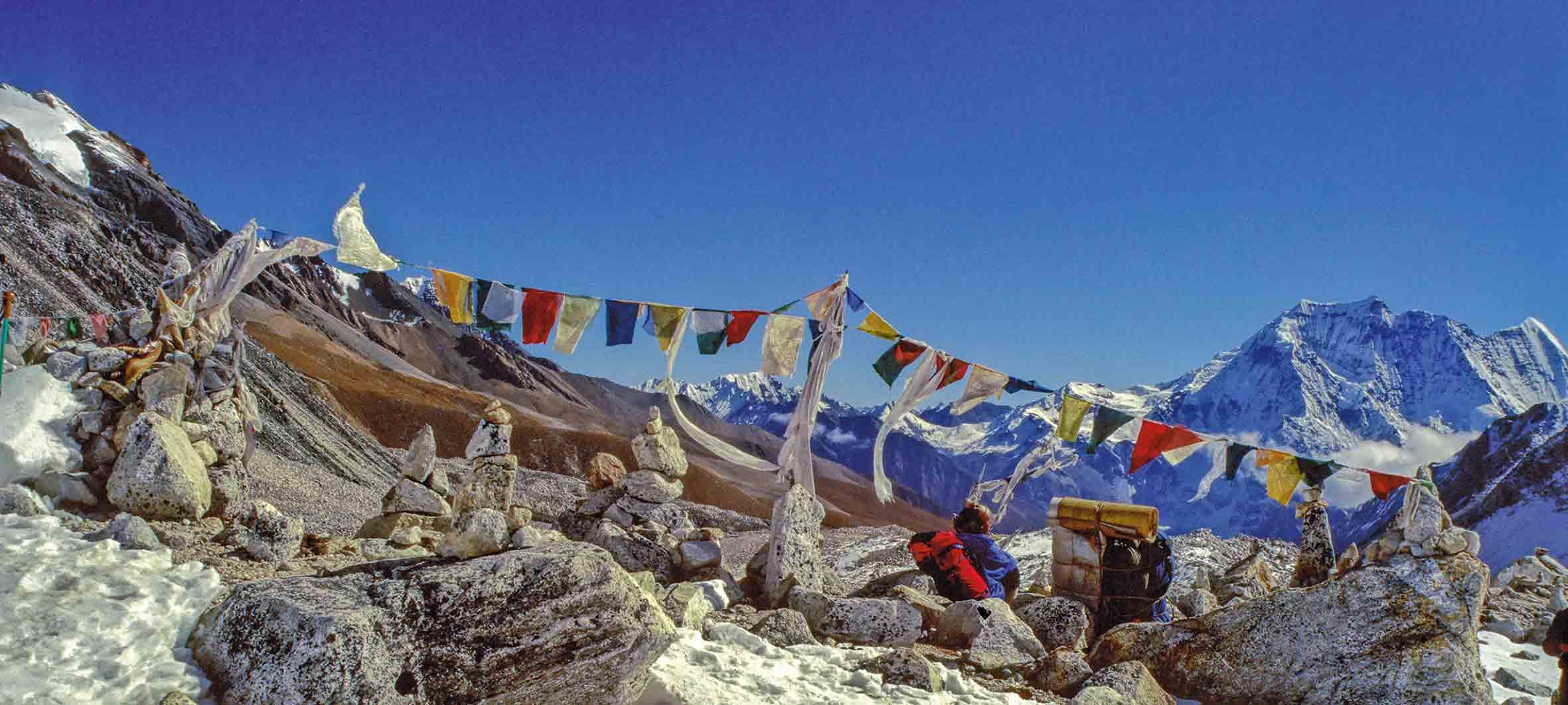 Überquerung des Larkya La, 5160 m, Nepal