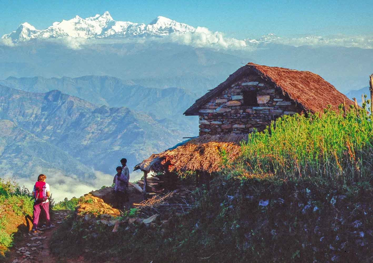 Trekking mit einzigartigem Blick auf den Manaslu, Nepal