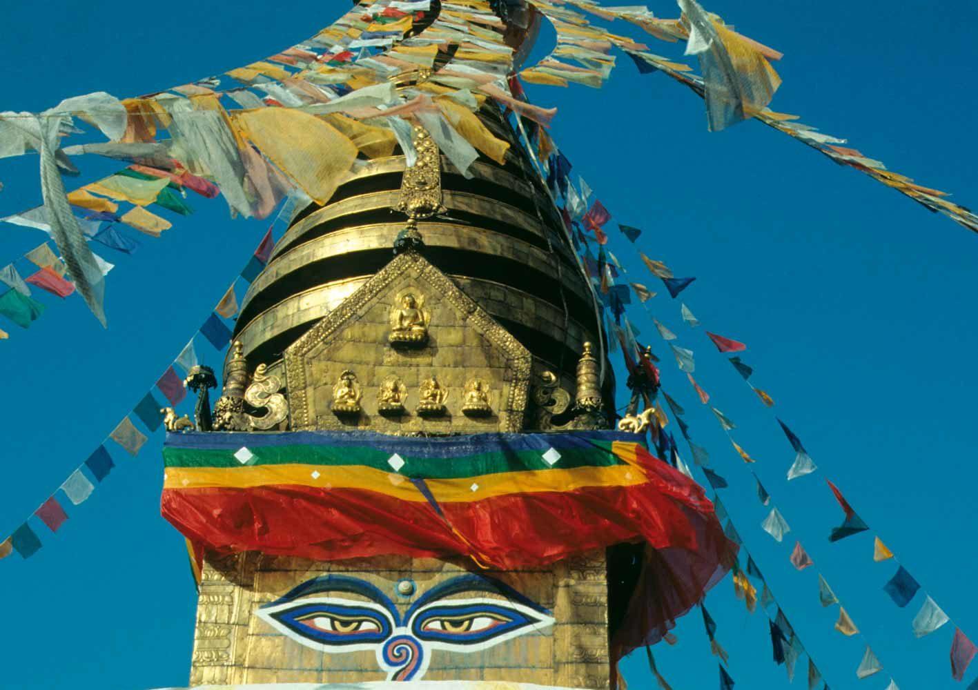 Besichtigung der Tempel im Kathmandu-Tal, Nepal