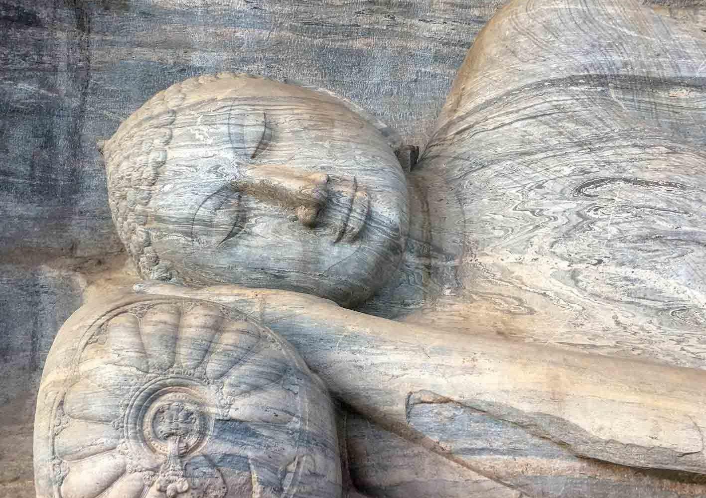 Liegender Buddha, Polonnaruwa, Sri Lanka