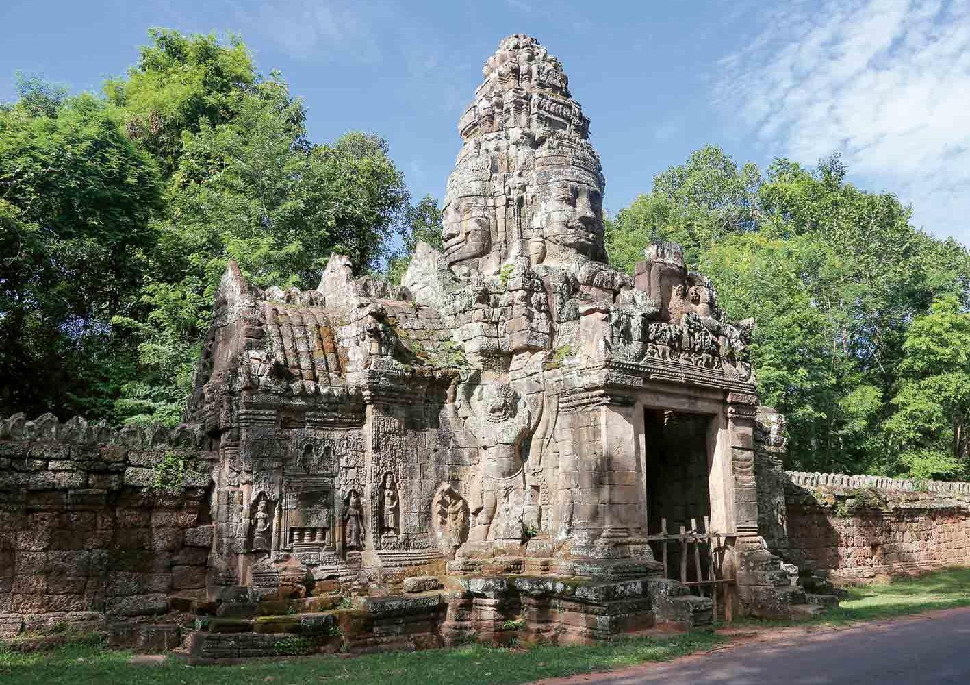 Banteay Kdei in Angkor, Kambodscha