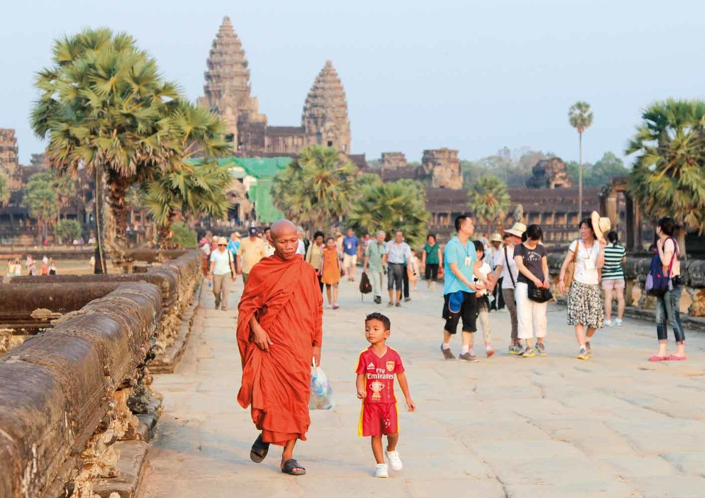 Magisch schönes Angkor Wat, Kambodscha