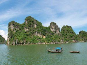Einmalig schöne Ha Long-Bucht, Vietnam