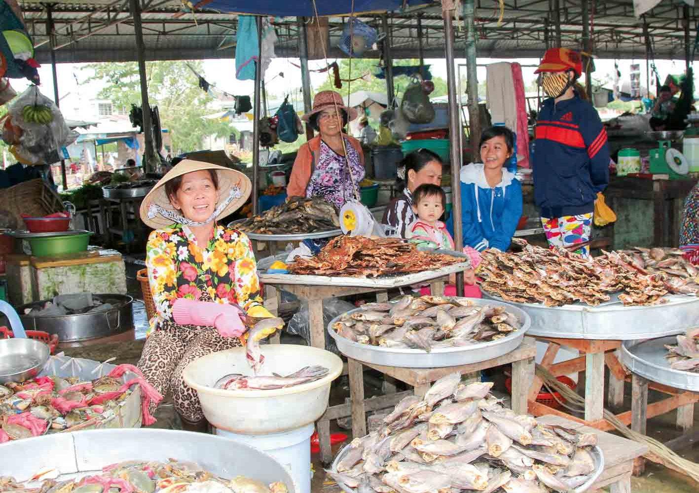 Fischmarkt in Vietnam