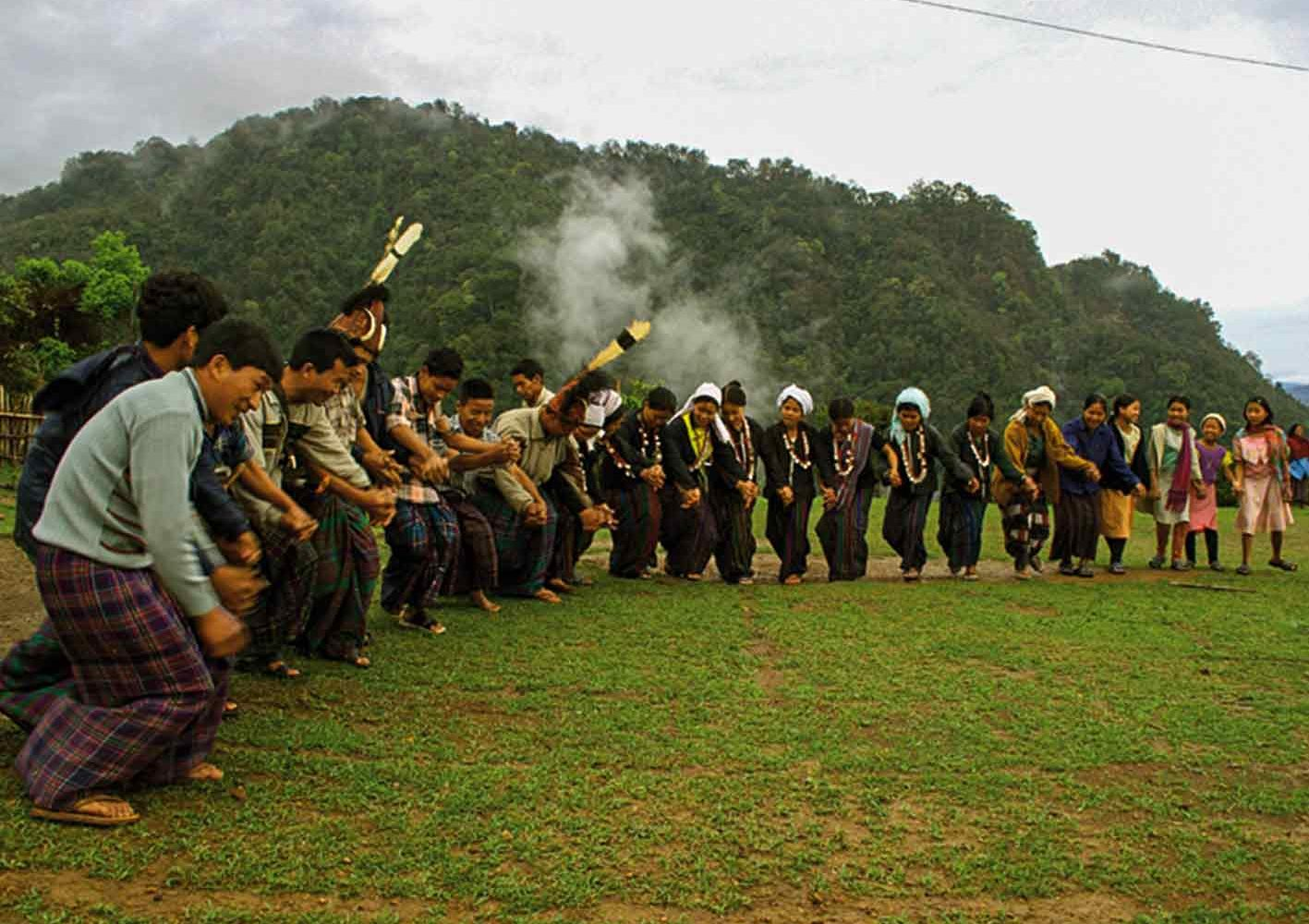 Volksfest in Arunchal Pradesh
