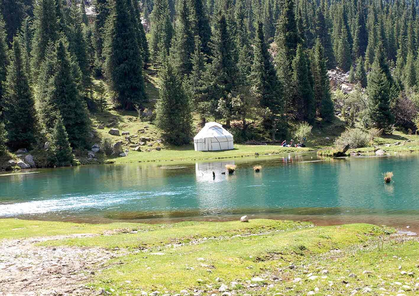 Suttu-Bulak-See, Wanderung am 17. Tag