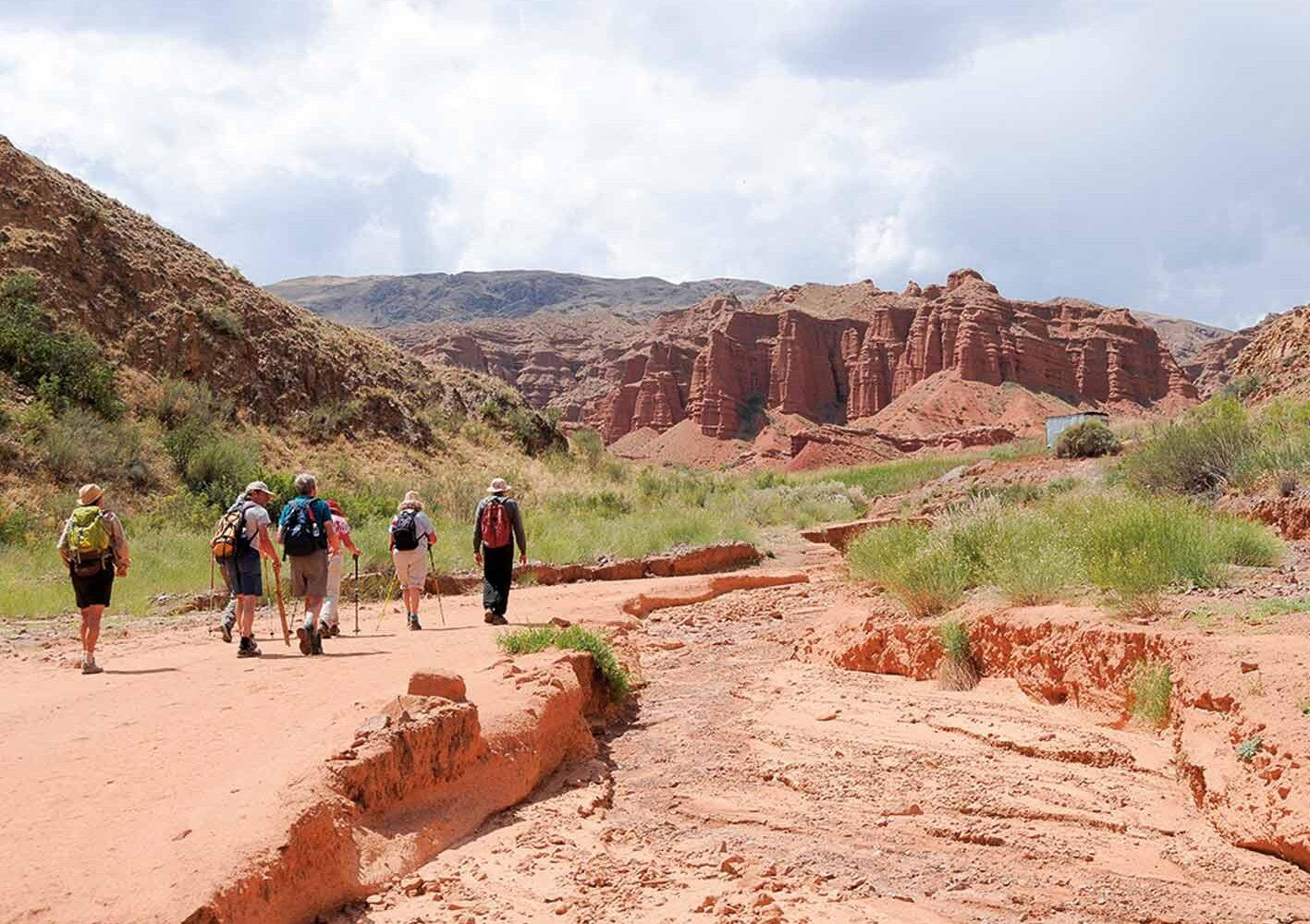 Wanderung im Boom Canyon, 18. Tag